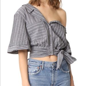 LIKELY one shoulder top